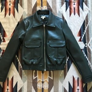UO Faux Leather Jacket